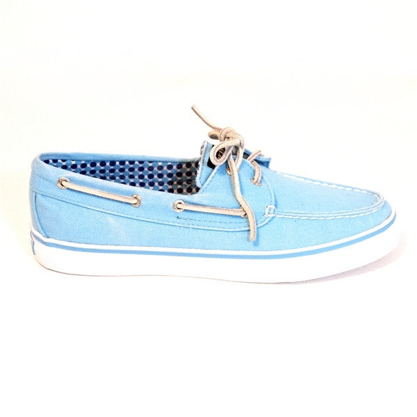 Sperry Top-Sider Bahama - Turquoise Canvas