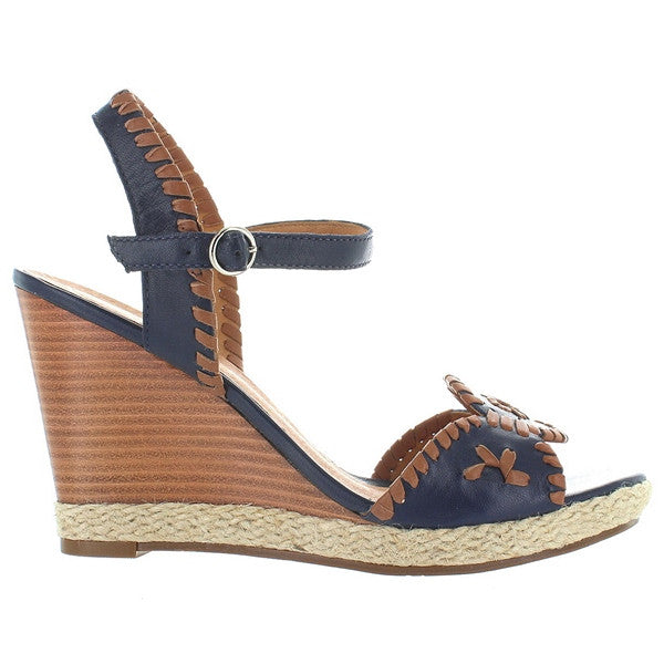 Jack Rogers Clare Wedge - Midnight Brown