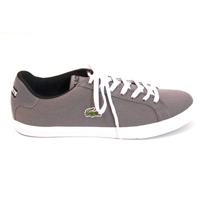 Lacoste Graduate Vulc - Dark Grey/White Lace-Up Sneaker