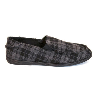 Blowfish Glider - Black Eden Plaid Slip-On Loafer
