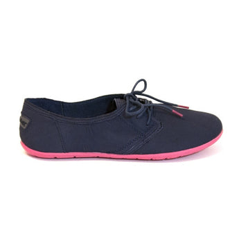 NoSox Barre - Navy/Pink Lace Slim Sneaker