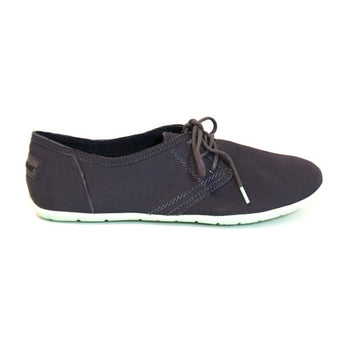 NoSox Barre - Charcoal/Mint Lace Slim Sneaker