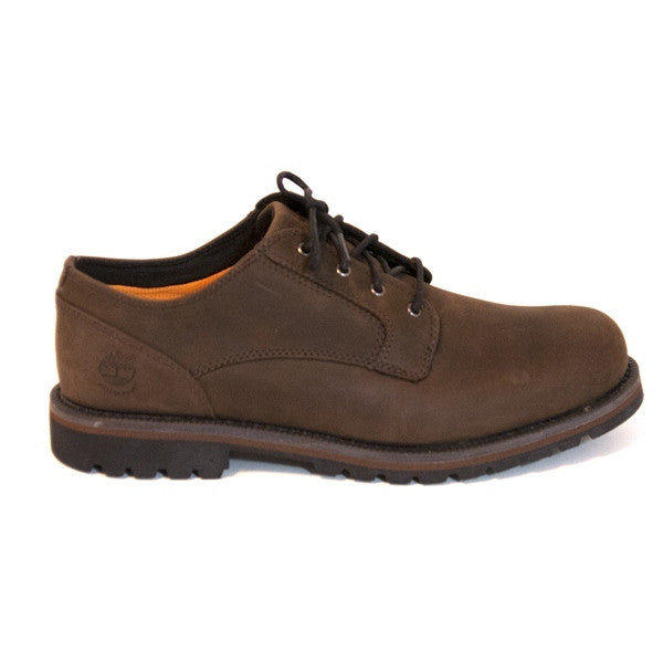 Timberland Earthkeepers Hartwick Ox - Dark Brown/Oil Rugged Plain Toe Waterproof Oxford