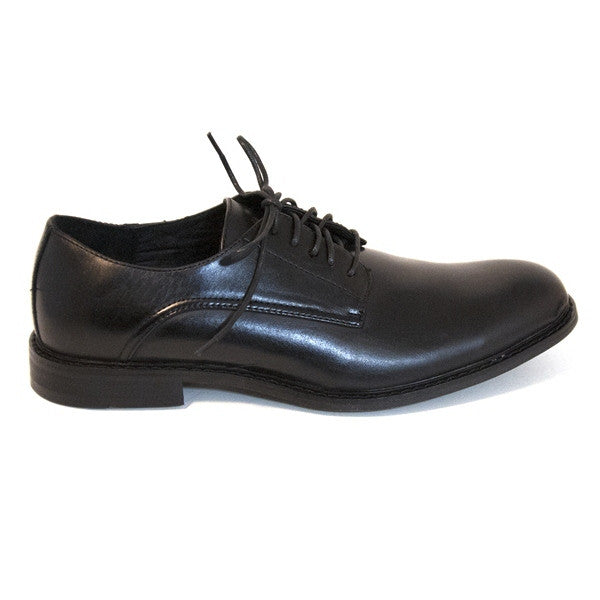 Deer Stags Memphis - Black Leather Lace-Up Oxford