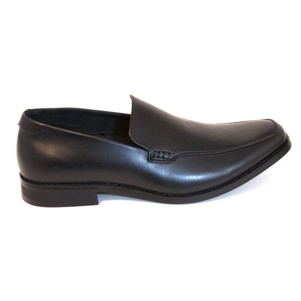 Deer Stags H Street- Black Leather Slip-On Loafer