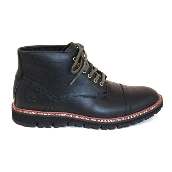 Timberland Earthkeepers Britton Hill - Black Leather Chukka Boot