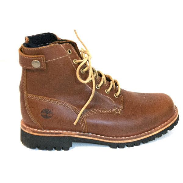 Timberland Earthkeepers Heritage - Rugged Back Zip Glazed Light Brown Lace-Up Boot