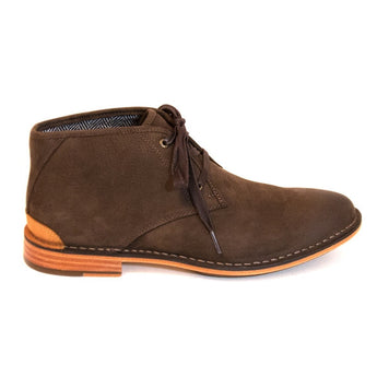 Sebago Halyard Chukka - Brown Nubuck Lace-Up Boot
