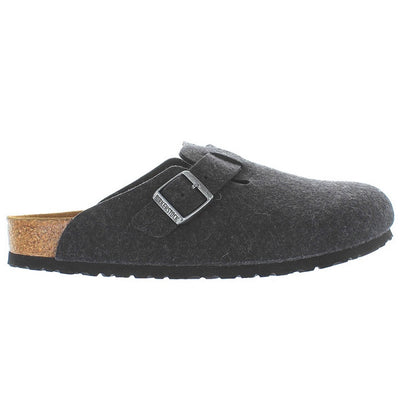 Birkenstock Boston - Anthracite Slip-On Footbed Clog