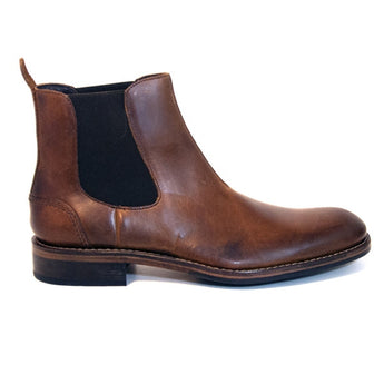 Wolverine 1000 Mile Montague Chelsea - Tan Leather Pull-On Gore Boot
