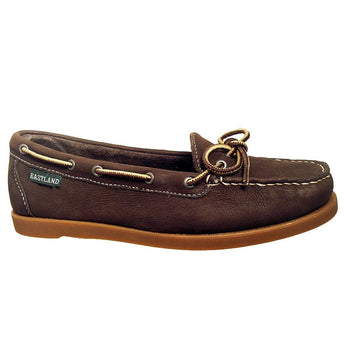 Eastland Yarmouth Camp Moc Slip-On - Brown Nubuck Boat Shoe