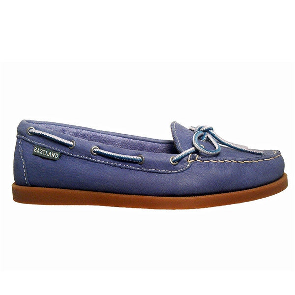 Eastland Yarmouth Camp Moc Slip-On - Blue Nubuck Boat Shoe