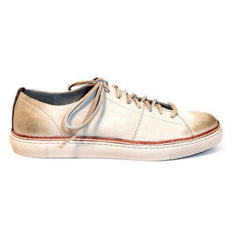 Frye Boot Gates Low Cement Leather Comfort Sneaker