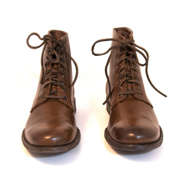 cae2d1261b Frye Boot Tyler Lace-Up - Brown Leather Ankle Boot – Kixters.com