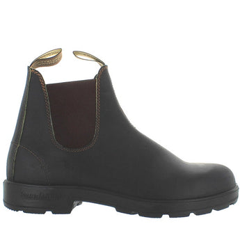 Blundstone 500 - Stout Brown Leather Pull-On Gore Boot