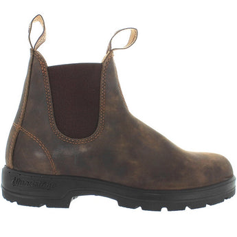 Blundstone 585 - Rustic Brown Leather Pull-On Gore Boot