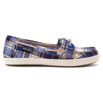 Eastland Skip - Blue Plaid Boat Shoe