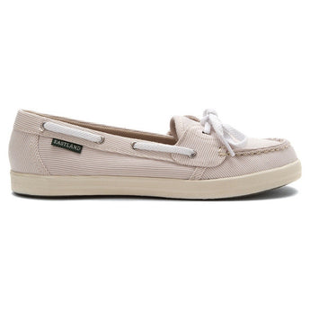 Eastland Skip - Tan Stripe Boat Shoe
