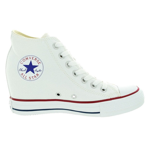Converse All Star Chuck Taylor Lux - White Canvas High Top Sneaker