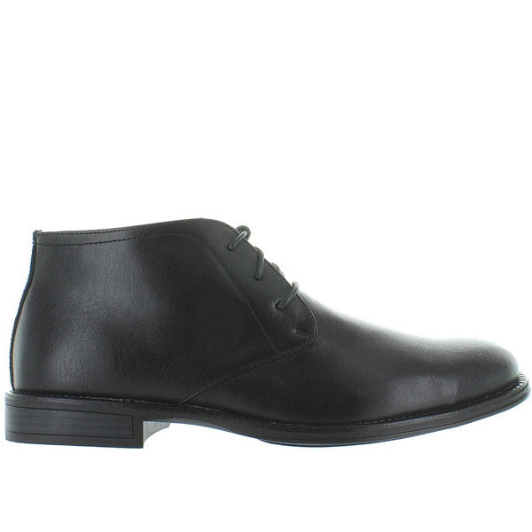 Deer Stags Mean - Waterproof Black Leather Chukka Boot