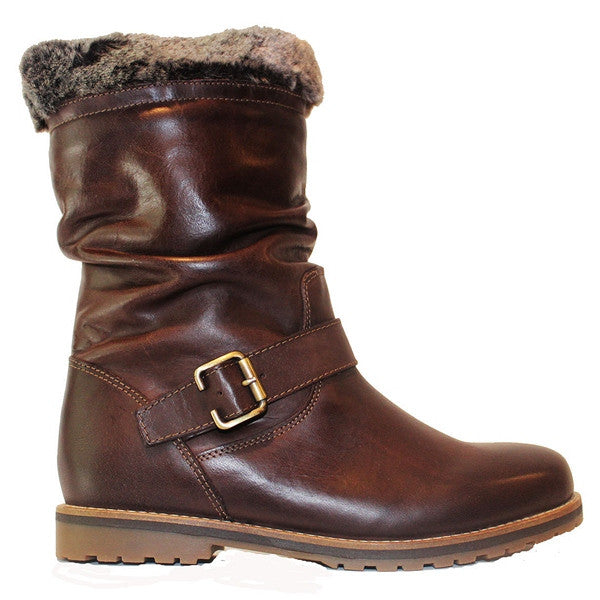 Eric Michael Boise - Brown Leather Waterproof Boot