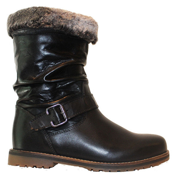 Eric Michael Boise - Black Leather Waterproof Boot