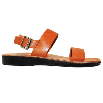 Jerusalem Golan - Tan Leather Shepherd Sandal 77-TAN
