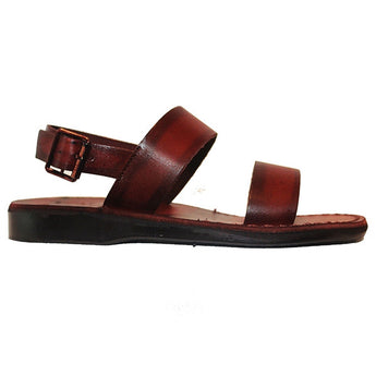 Jerusalem Golan - Brown Leather Shepherd Sandal