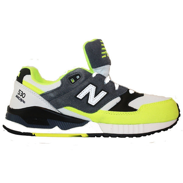 ... New Balance 530 - 90 s Running Remix Yellow Grey Black Lifestyle Sneaker  ... c6ac5a7347