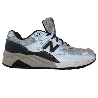 New Balance 580 - Elite Pinball Grey/Black Reflective Leather/Mesh Lifestyle Sneaker