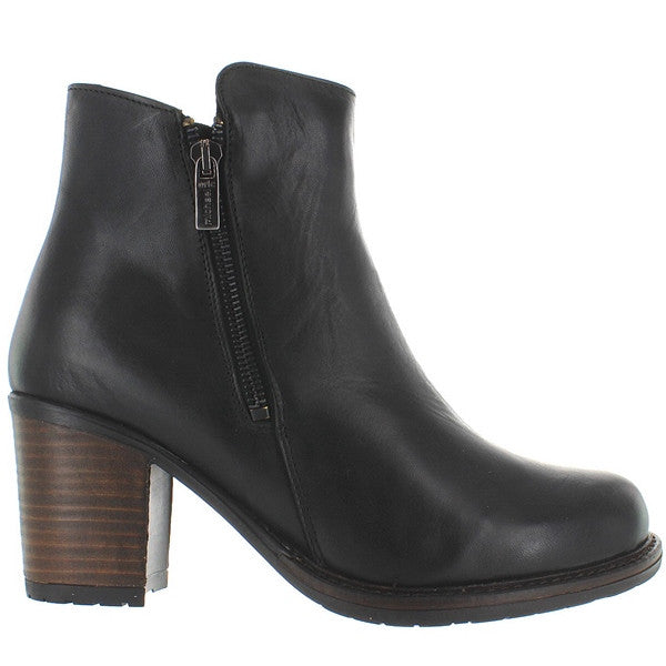 Eric Michael Spokane - Waterproof Black Leather Side Zip Boot