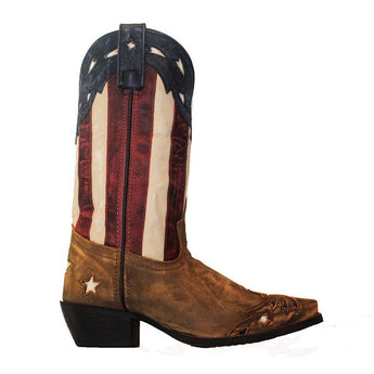 Laredo Western - American Flag Leather Cowboy Boot