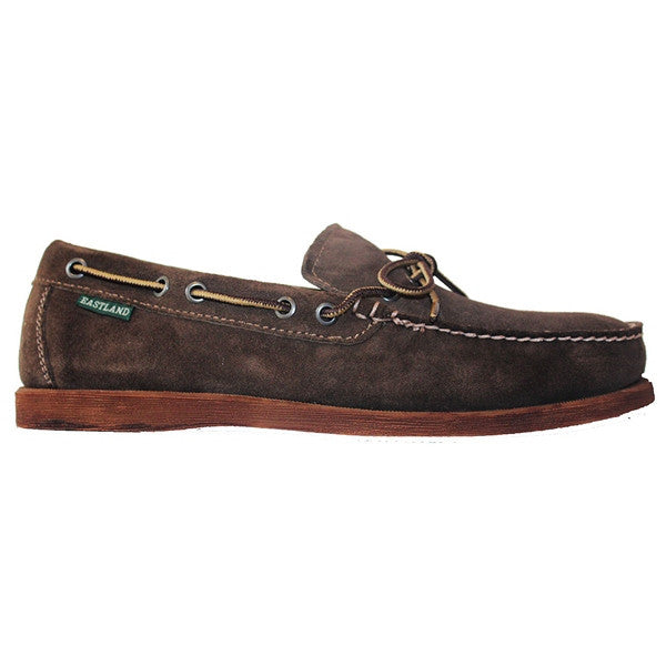 Eastland Yarmouth - Dark Olive Suede Boat Shoe 7766-55