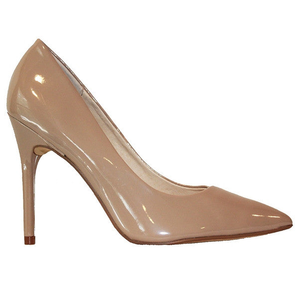 Chinese Laundry Neapolitan - Nude Patent Stiletto Pump NEAPOLITIAN-NUDE PATENT - Size 5 -