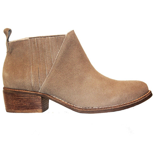 Matisse El Toro - Natural Suede Pull-On Bootie