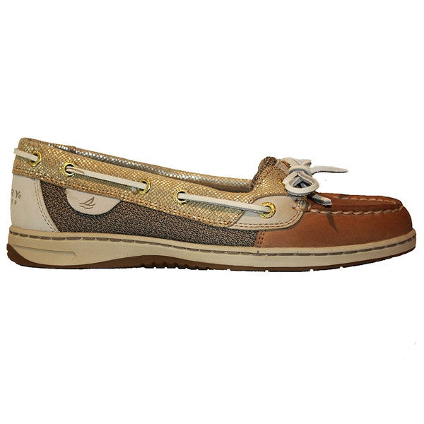 Sperry Top-Sider Angelfish - Metallic Python Linen/Gold