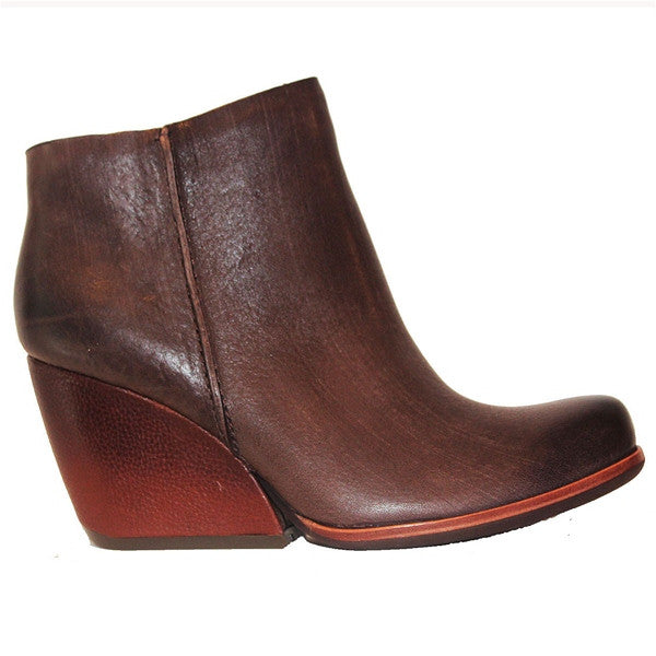 Kork-Ease Natalya - Morosita Leather Wedge Bootie