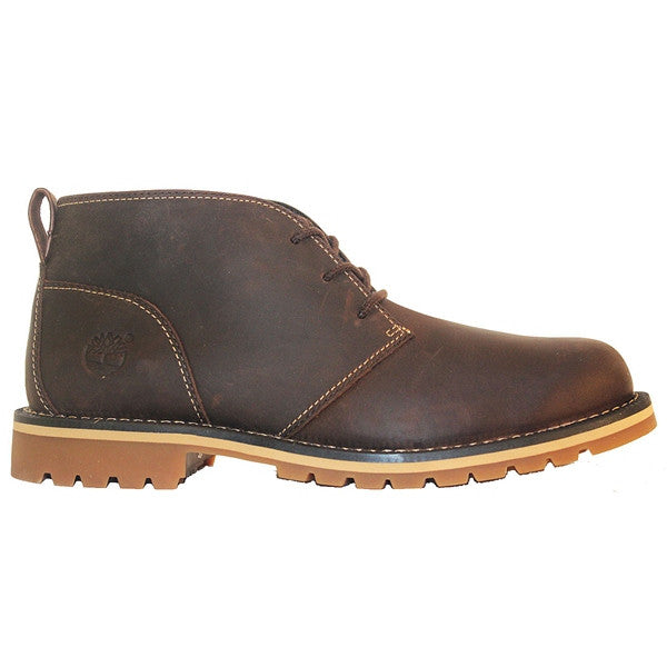 Timberland Earthkeepers Grantly - Dark Brown Oiled Leather Chukka Boot