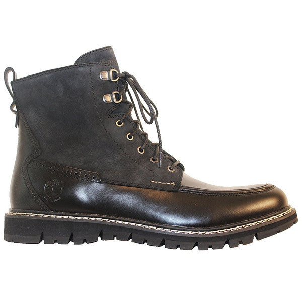 Timberland Earthkeepers Britton Hill - Black Leather/Suede Lace-Up Boot