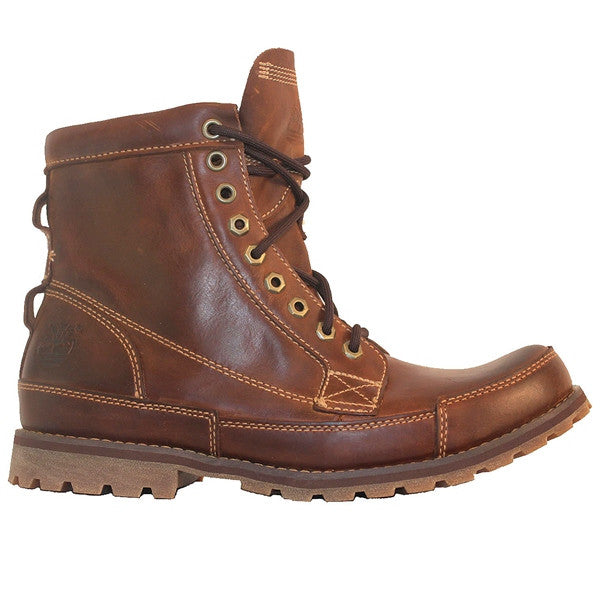 Timberland Earthkeepers Rugged - Burnished Brown Leather Lace-Up Boot