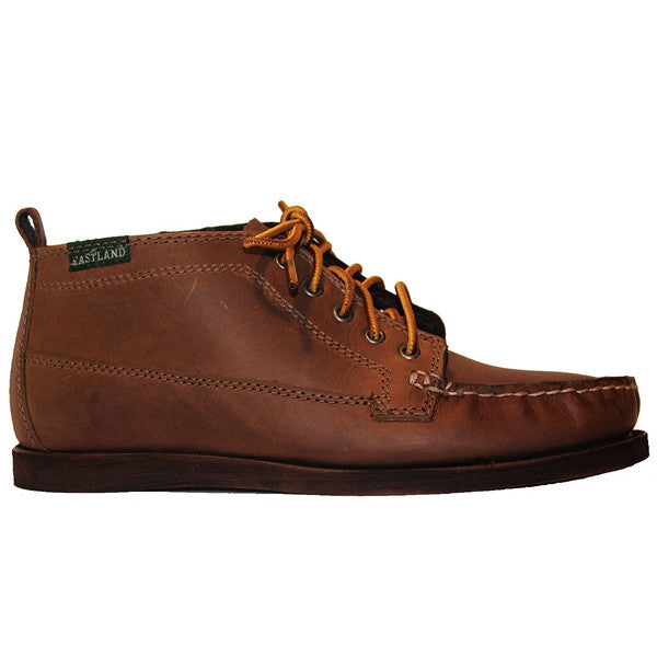 Eastland Seneca - Natural Leather Lace-Up Moc Toe Chukka Boot