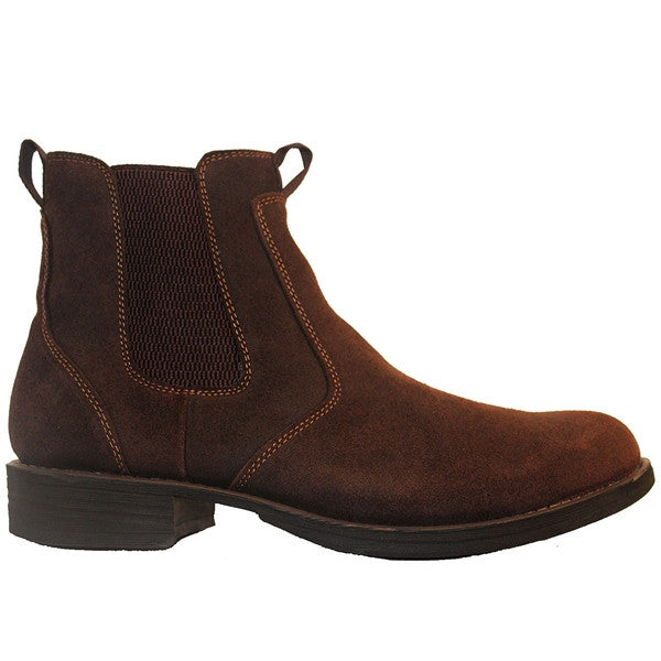 Eastland Daily Double - Brown Oil Leather Dual Gore Pull-On Boot