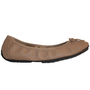 Me Too Halle - Driftwood Elasticized Ballet Flat