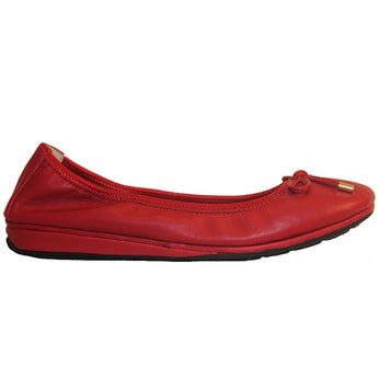 Me Too Lilly - Marlboro Red Low Wedge Ballet Flat