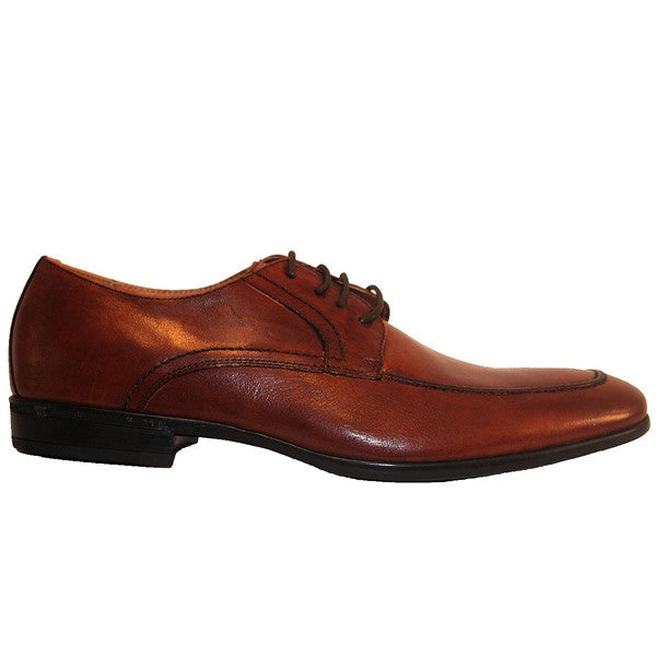 Florsheim Burbank - Brown Leather Moc Toe Oxford