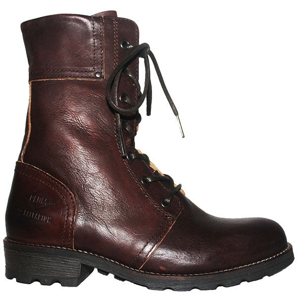 PLDM Uprise - Dark Brown Leather Lace-Up Boot
