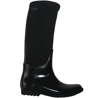 Cougar Nigel - Waterproof/Thermal Black Gloss Tall Rain Boot