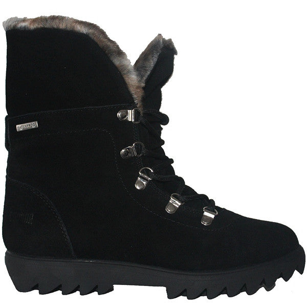 Cougar Zag - Waterproof/Thermal Black Suede Fur-Lined Winter Boot