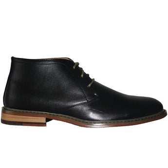 Deer Stags Seattle - Black Leather Desert Boot