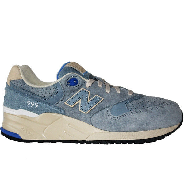 New Balance 999 Elite Edition Wooly - Light Blue Suede Running Sneaker